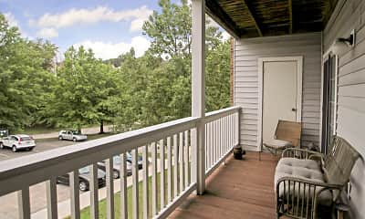 Patio / Deck, The Woodhawk Club, 2