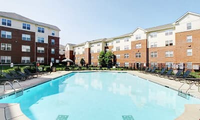 Pool, University Landing - Per Bed Lease, 0