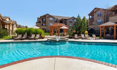 Pool, The Village at Legacy Ridge Apartments, 1
