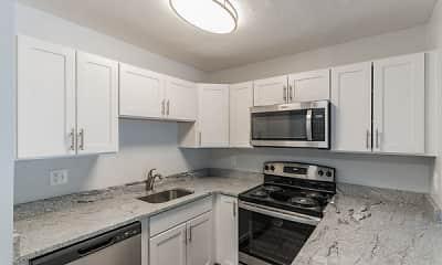 Kitchen, Park Village West, 0