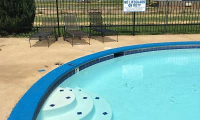 Pool, Fountain Lakes Apartments, 2