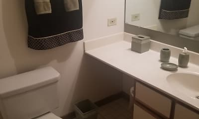 Bathroom, Orchard Lakes, 2