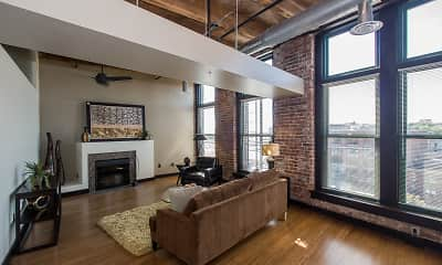 Living Room, Residences at Old Market Place, 0