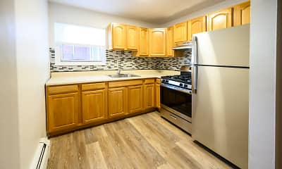 Kitchen, Lafayette Park Apartments, 1