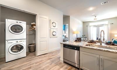 Kitchen, Modera Dallas Midtown, 1