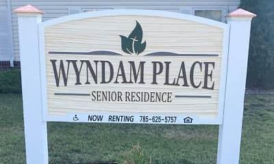 Community Signage, Wyndam Place Senior Residence, 2