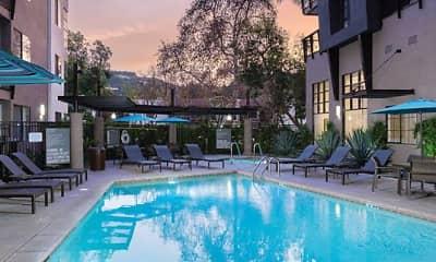 Pool, Avalon Studio City, 0