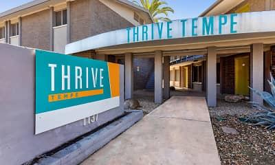 Community Signage, Thrive Tempe, 2