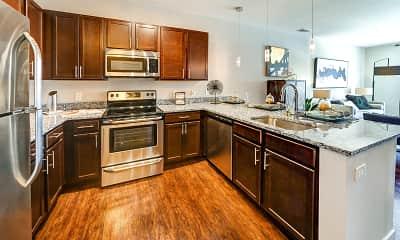 Kitchen, The Olivia on Main, 1