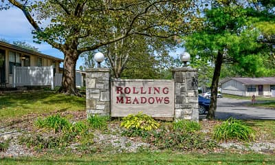 Community Signage, Rolling Meadows Apartments, 2