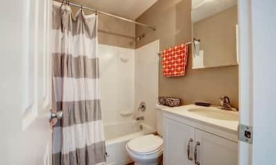 Bathroom, The Ridge Apartments, 2