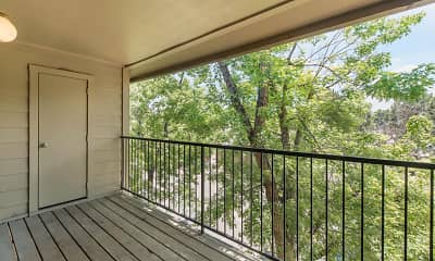 Patio / Deck, Canyon Chase Apartments, 2