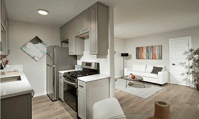 Kitchen, Mar Vista, 1