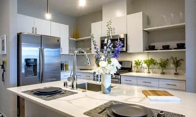 Kitchen, Inova Luxury Apartments at the Summit, 0