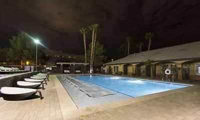 Pool, Diamond Sands on the Boulevard, 1