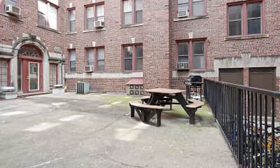 Recreation Area, Langdon Hall Apartments, 1