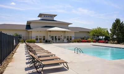 Pool, The Bluffs, 2