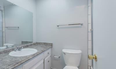Bathroom, Del Coronado Apartments, 1