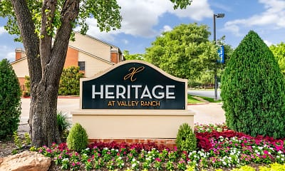 Community Signage, Heritage at Valley Ranch, 0