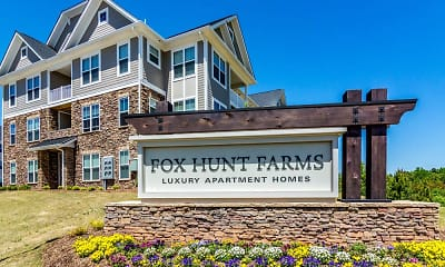 Community Signage, Fox Hunt Farms, 0