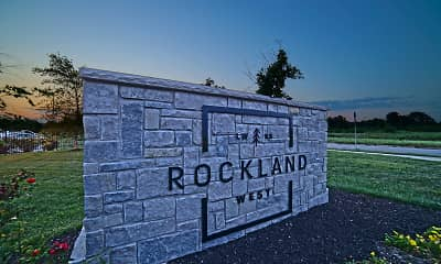 Community Signage, Rockland West, 2