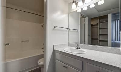 Bathroom, Casablanca Apartments, 2