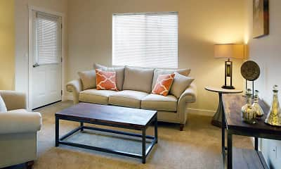 Living Room, Dickinson Meadows Apartments, 1