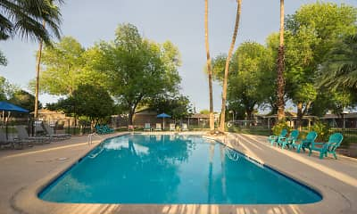 Pool, Parkside Apartment Homes, 1