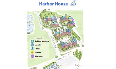 Community Signage, Harbor House, 1