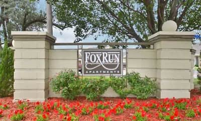 Community Signage, Fox Run, 2