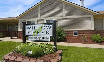 Community Signage, Willow Creek Apartments, 2