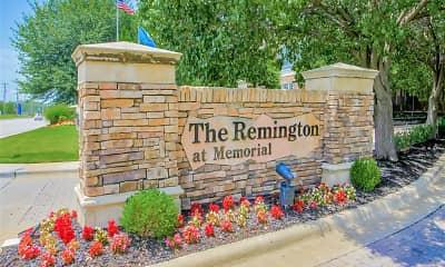 Community Signage, The Remington At Memorial, 0