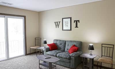 Living Room, Wyndsor Terrace Apartments, 0