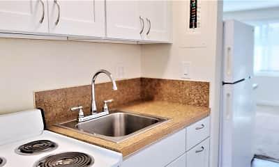 Kitchen, Westernaire Apartments, 1