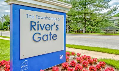 Community Signage, The Townhomes at River's Gate, 2