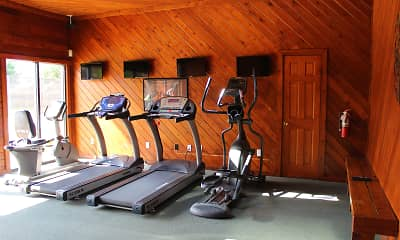 Fitness Weight Room, Deauville Park, 2