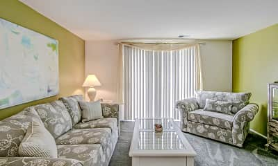 Living Room, The Townhomes at River's Gate, 1
