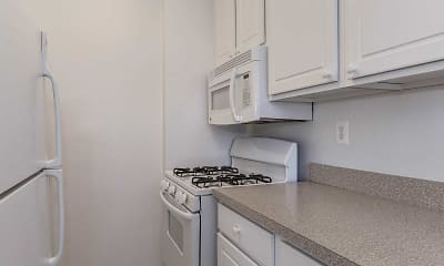 Kitchen, Hill House Apartments, 1