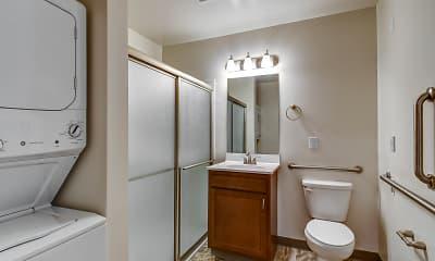 Bathroom, Sycamore Creek Senior Apartments, 2