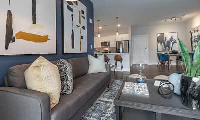 Living Room, The Vue at Maynard Crossing, 0