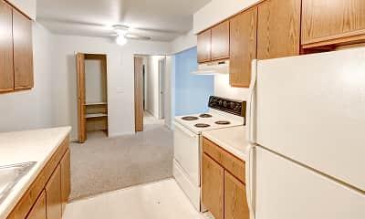 Kitchen, University Place Apartments, 1