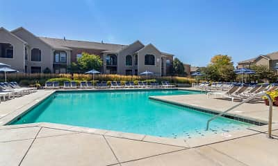 Pool, Legacy Heights Apartments, 1
