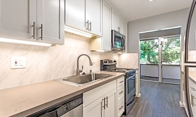 Kitchen, Parksquare Apartments, 0