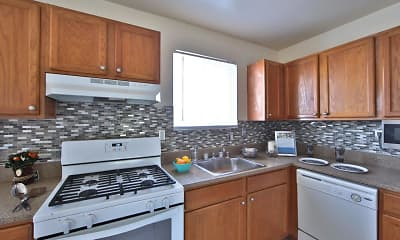 Kitchen, Westerlee Apartment Homes, 1