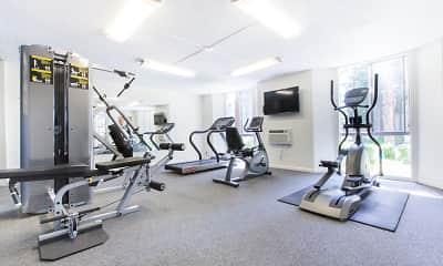 Fitness Weight Room, Castlewood, 2