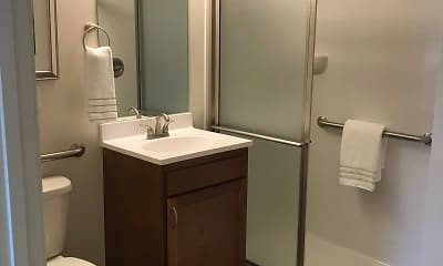 Bathroom, Sycamore Creek Senior Apartments, 1