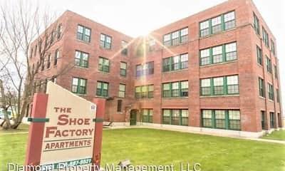 Building, Shoe Factory Apartments, 0