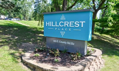 Community Signage, Hillcrest Place Apartments, 1