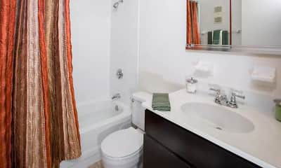 Bathroom, Marlboro Classic & Redwood Square, 2