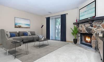 Living Room, Oakwood Trail, 1